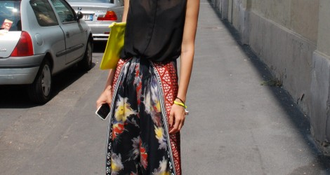 Streetstyle Milan Fashion Week: Print & Patterns