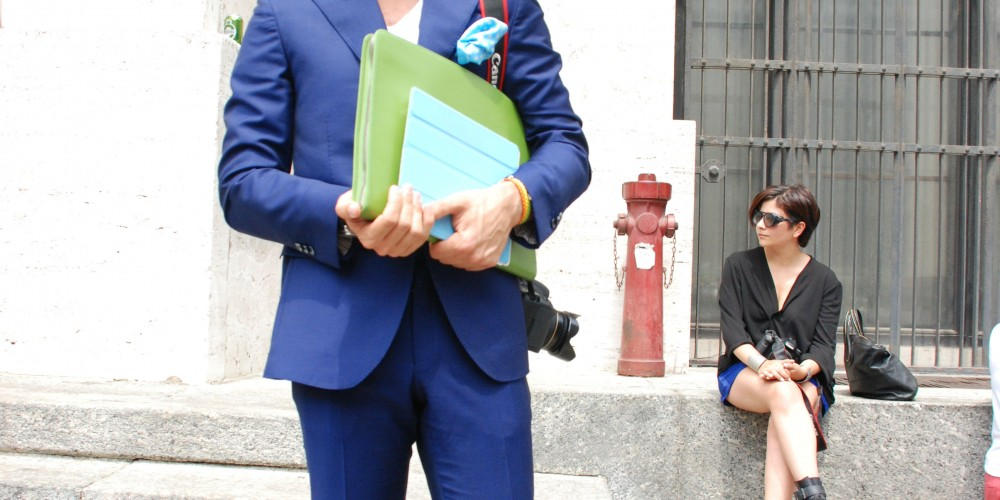 Streetstyle Milan Fashion Week: Pop the Colour
