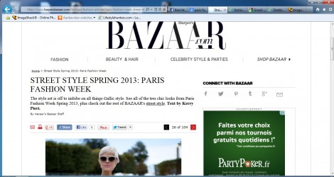 Paris day 1 - Harper's Bazaar
