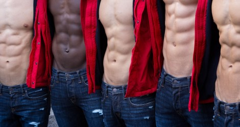 Counting abs for Abercrombie