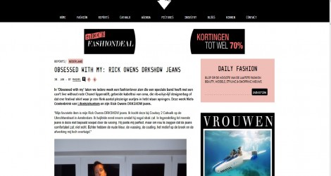 Hunter Niels on Fashionscene.nl