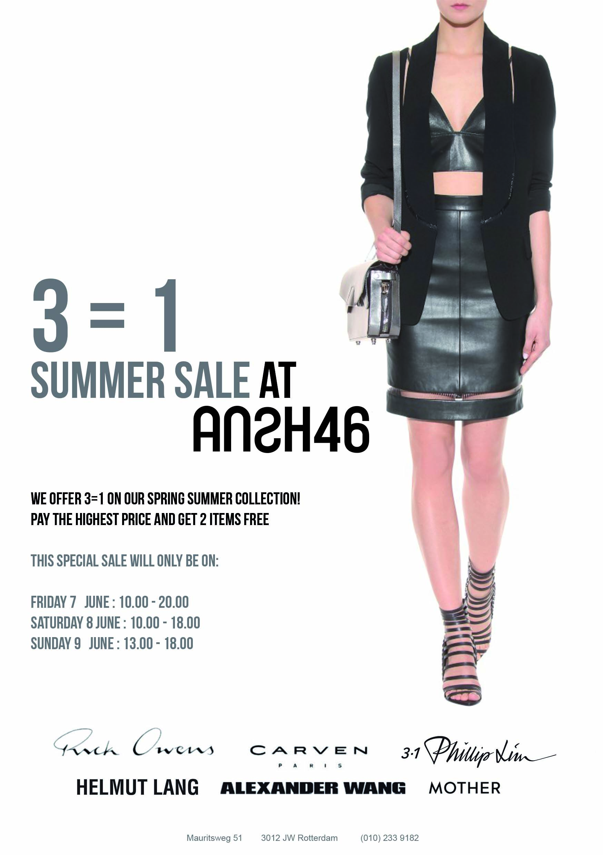 Sale Flyer Ansh SS13