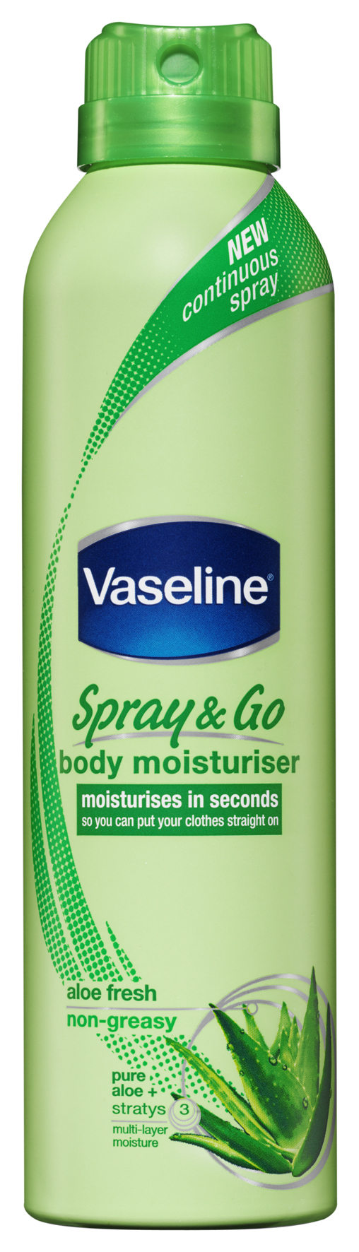 Vaseline Spray & Go - Aloë Fresh