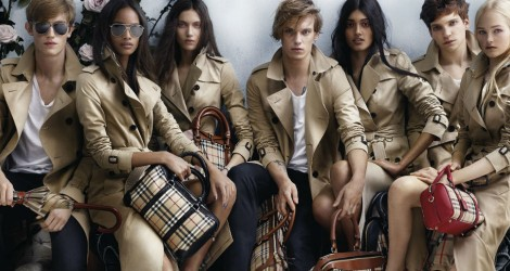 Burberry SS14 campaign