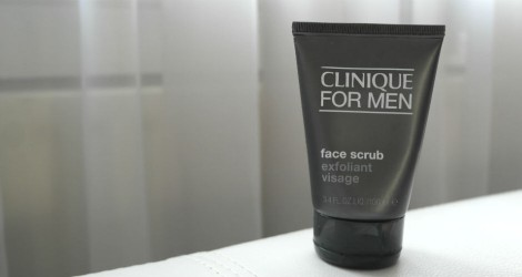 Clinique for Men - face scrub