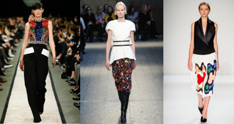 AW14 trend report: Print blocking