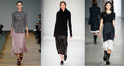 FW14 trend report: Ankle length skirts