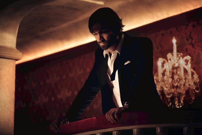 Michiel Huisman for Chanel