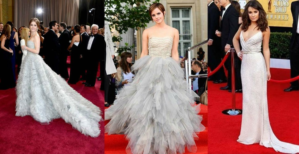 Oscar de la Renta's red carpet ladies