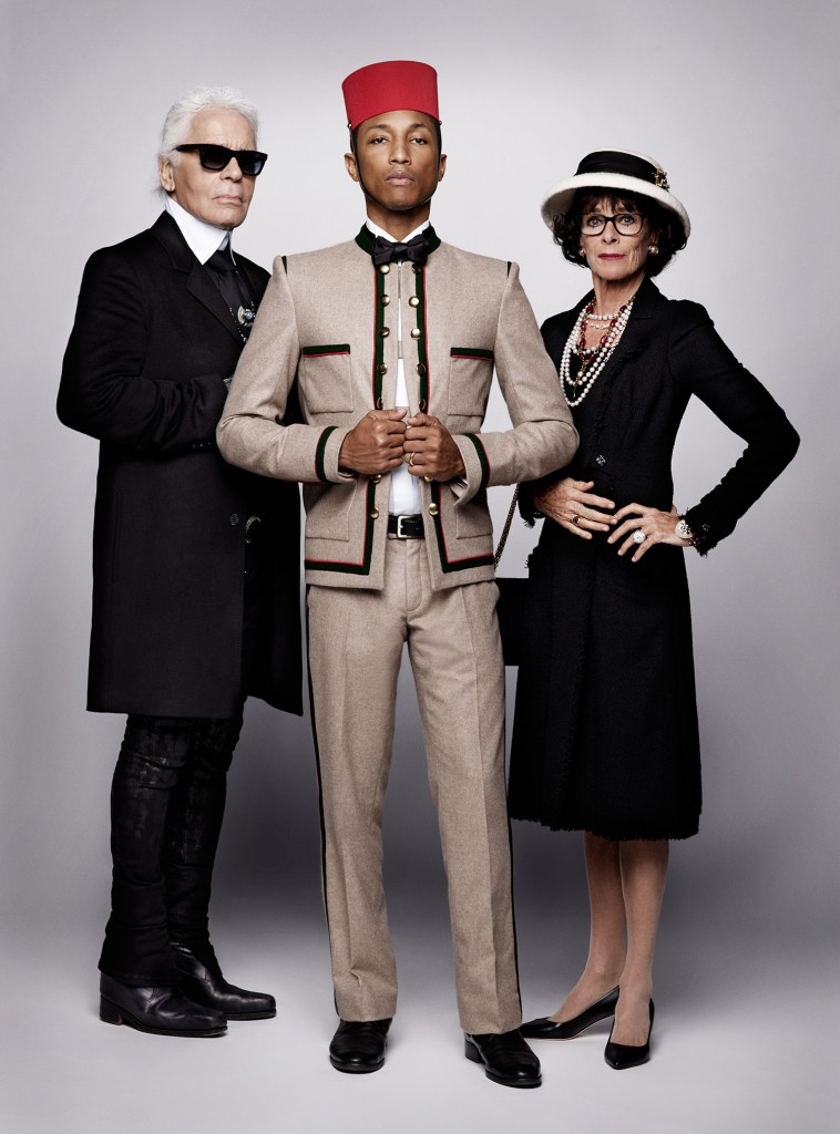 Pharrell Williams for Chanel