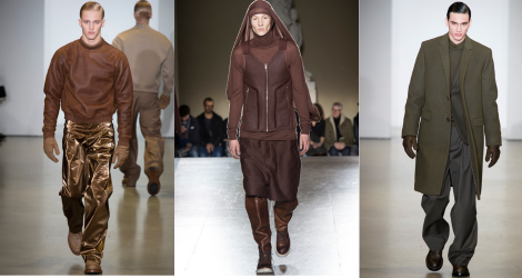 FW14 trend report: Volumptios earth tones
