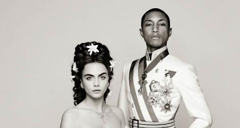 Pharrell + Cara + Karl = Chanel Video