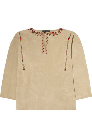 Isabel Marant suede top