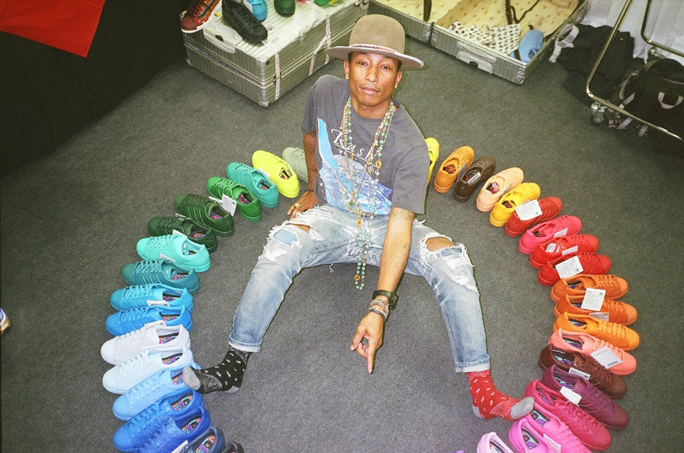 Pharrell Williams for Adidas