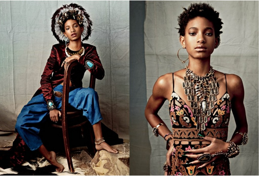 Willow Smith by Carine Roitfeld