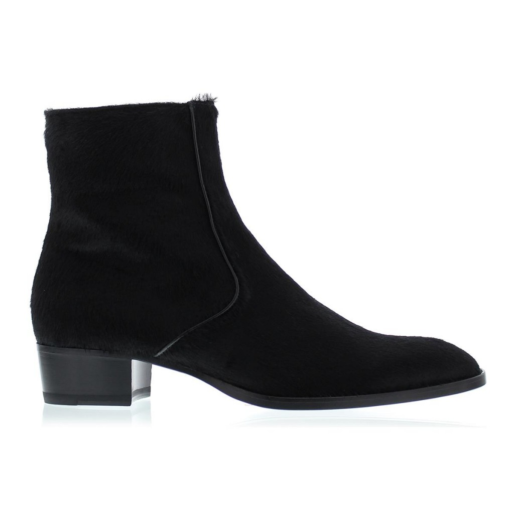Saint Laurent pony hair  boot