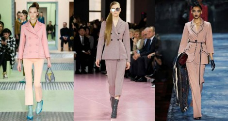 FW15 Trend report: Pale Pink