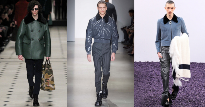 FW15 trend report: Extravagant aviator jackets