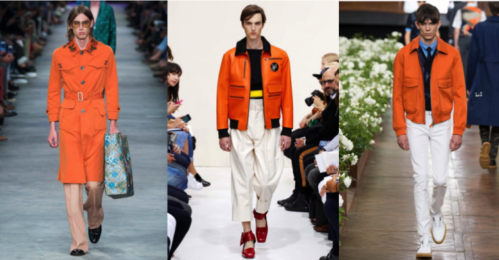 SS16 trend report: Orange coat