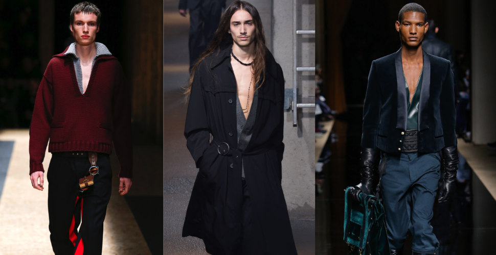 FW16 trend report: Cleavage